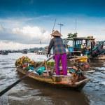 Floating market — Stock Photo #73557869