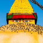 The Great stupa — Stock Photo #74913217