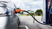 Fuel station — Stock Photo