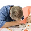 Tax Time Frustrations — Stock Photo #54395277