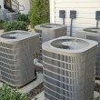 Air Conditioning Units At Complex — Stock Photo #56845601