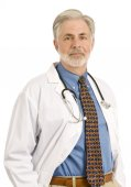 Confident Friendly Doctor — Stock Photo
