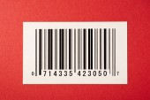 The Bar Code  (Fictional) — Stock Photo
