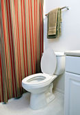 Toilet In Apartment Bathroom — Stock Photo