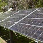 Close Up Solar Panel Array — Stock Photo #66396721