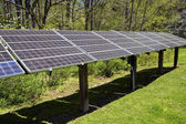 Large Solar Energy Panel Array — Stock Photo