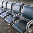 Long Row Of Empty Seats In Airport — Stock Photo #71120691