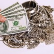 Cash For Your Silver Jewelry — Stock Photo #72419755