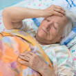 Old sick woman — Stock Photo #52904769