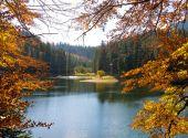 Sinevir lake in the Carpathian Mountains — Stock Photo