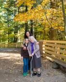 A multi generation portrait of a happy family — Foto de Stock