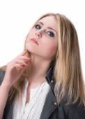 Chica joven atractiva — Foto de Stock