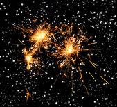 Mooie sparkler — Stockfoto