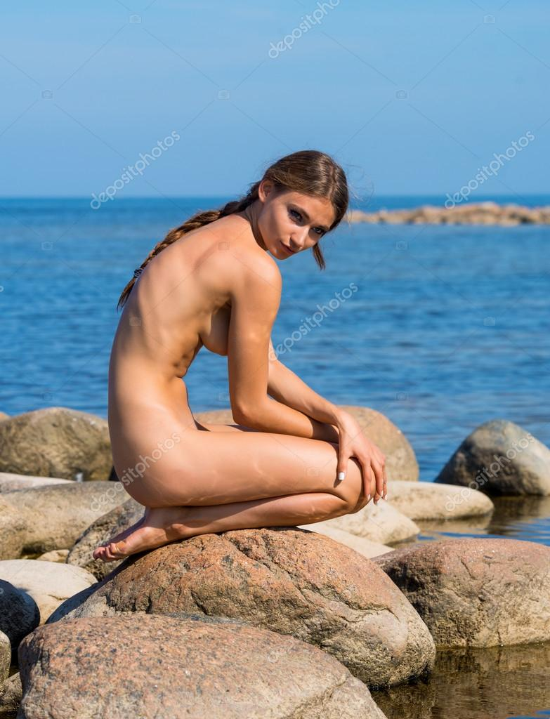 young naked girl