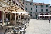 Centre of Old Town in Sibenik, Croatia — Stock Photo