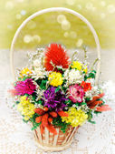 Bouquet of dried flowers — Stock Photo