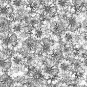 Seamless pattern. bouquet of cornflowers — Stock Photo
