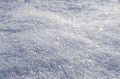 Pluizig sneeuw close-up — Stockfoto