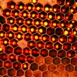 Closeup Beehive for Background Uses. — Stock Photo #77839818
