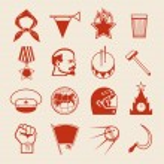 Постер, плакат: Soviet icons0