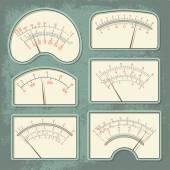 Measurers1 color — Stock Vector