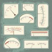 Measurers2 color — Stock Vector
