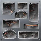 Measurers2 realistic — Stock Vector
