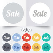 Sale sign icon. Special offer symbol. — 图库矢量图片