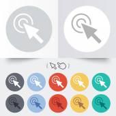 Mouse cursor sign icon. Pointer symbol. — Vetorial Stock