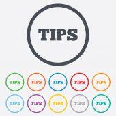 Consigli di firmano l'icona. simbolo di soldi di servizio. — Vettoriale Stock