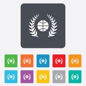 Basketball sign icon. Sport symbol. — Wektor stockowy