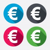 EUR currency symbol. — Stock Vector