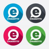Smoking sign icons — Stock Vector