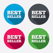 Best seller sign icons — Stockvector