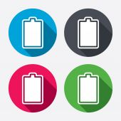 Battery fully charged signs — Stockvector