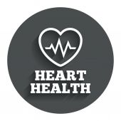 Heartbeat sign — Stock Vector