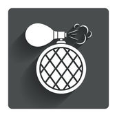 Perfume bottle icon. — Wektor stockowy
