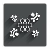 Honeycomb icon. — Stockvektor