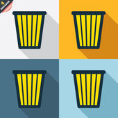 Recycle bin signs — Vetorial Stock
