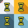 Hourglass signs — Stock Vector #62370349