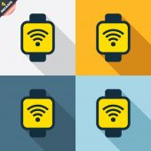 Smart watch icons — Stock vektor