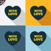 сердце знаки — Cтоковый вектор
