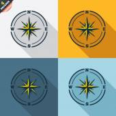 Compass signs — Stockvektor