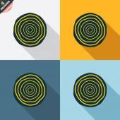 деревянные иконы — Cтоковый вектор