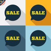 Prodej značek — Stock vektor