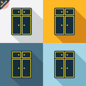 Cupboard signs — Stock Vector
