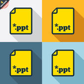 File presentation icons — Wektor stockowy
