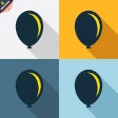 Balloon icons — Stock Vector