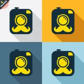 Hipster photo camera signs — Vetorial Stock