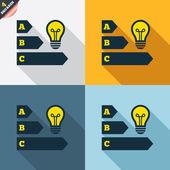 энергетической эффективности значки — Cтоковый вектор